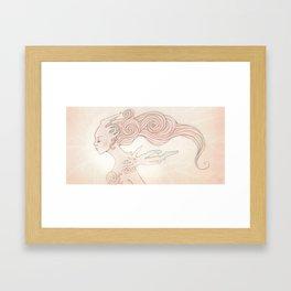 Alien Queen Framed Art Print