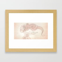 Alien Queen Framed Art Print