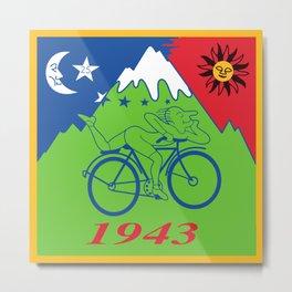 LSD 1943 - Hoffman Trip Metal Print