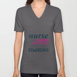 Nursing Is An Art Unisex V-Neck
