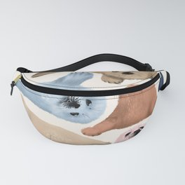 Baby Seals // Sweet pastels Fanny Pack