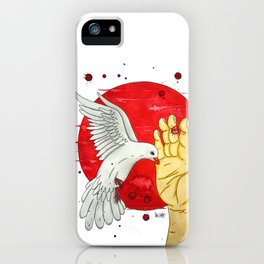Pigeon of the peace iPhone Case