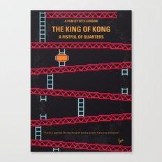No581 My King of Kong minimal movie poster Canvas Print
