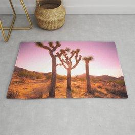 Three Sisters at Sunset- Joshua Tree Edition Rug