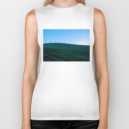 California Wind Mills Biker Tank