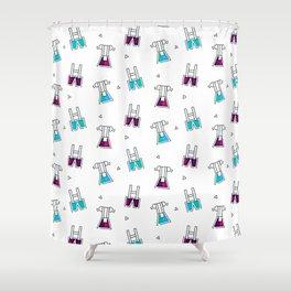 German Festival Season - Playful Dresses Shower Curtain
