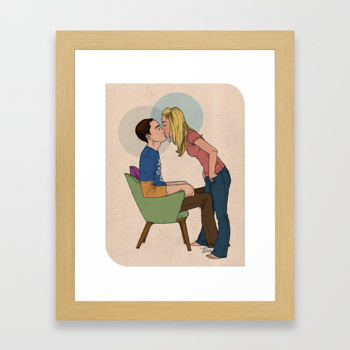 An Optimal Experiment Framed Art Print