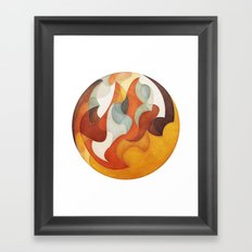 The Flow of Things Framed Art Print