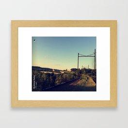 The Bridge - Ft. Me Framed Art Print