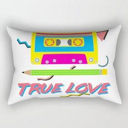 80s True Love Rectangular Pillow