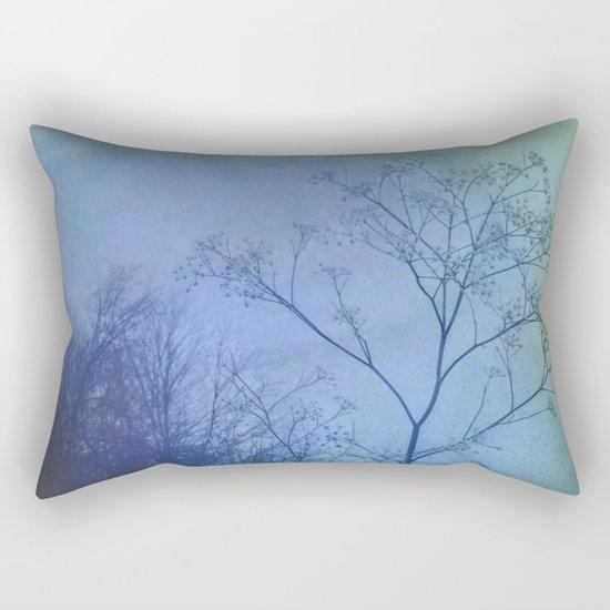The Quiet of Winter Rectangular Pillow