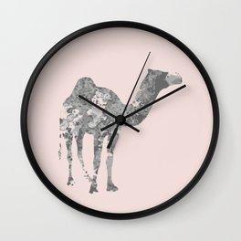 Camel wall art Wall Clock
