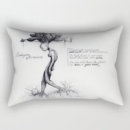 Mandragora officinarum Rectangular Pillow