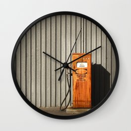 Pumped Wall Clock