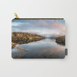 Lake Padarn Sunset Carry-All Pouch