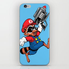 Super Rocket iPhone Skin