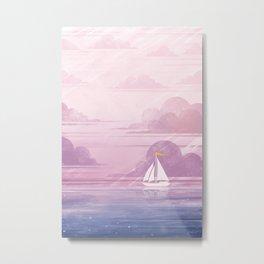 Across the Ocean Metal Print
