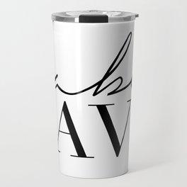 babe cave Travel Mug