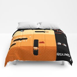 Dig Dug Classic Game Comforters