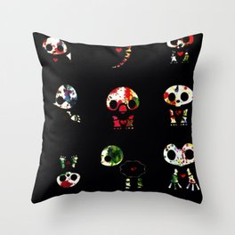 Critter Splash Throw Pillow