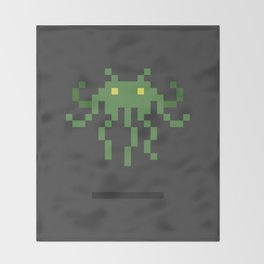 Cthulhu Invader Throw Blanket