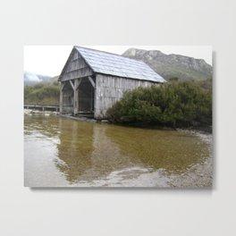 Abandoned Boathouse Metal Print