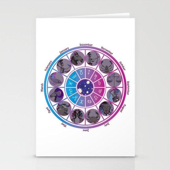 Starlight Zodiac Wheel by thecubanwitch