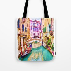 Venice Canal 2 Tote Bag