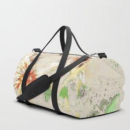 Macelas - Small flowers digitally stylized Duffle Bag