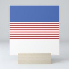 Minimal Navy Mini Art Print