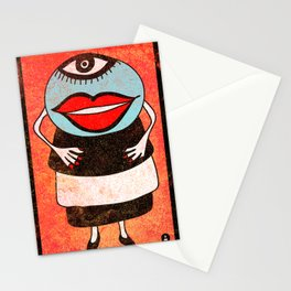Miss One Eye Stationery Cards