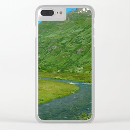 Summer Melt Clear iPhone Case