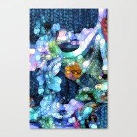 aquarius Canvas Prints featuring Aquarius by Joke Vermeer