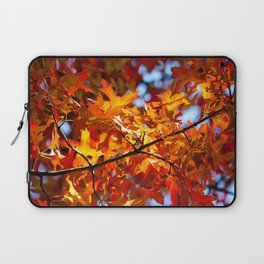 Autumn Leaves in NYC Laptop Sleeve