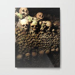 Man made a wall... Metal Print