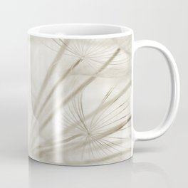 Dandelion Neutral Closeup Coffee Mug