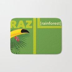 Brazil [rainforest] Bath Mat