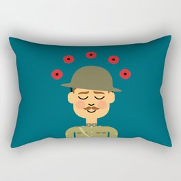 Remembrance Day Rectangular Pillow