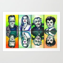 The Munsters Art Print