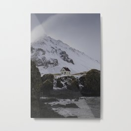 Icelandic home Metal Print