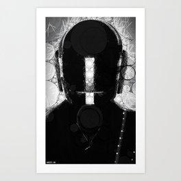 duft_punk_1 Art Print