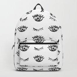 Eye Eyelashes Pattern Backpack