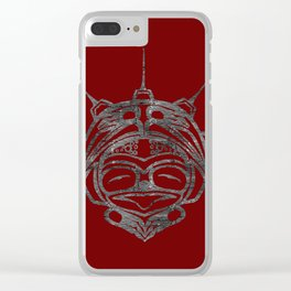 Smoke Frog Blood Clear iPhone Case