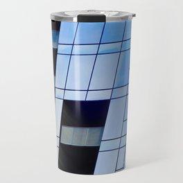 Glass Cubism Travel Mug