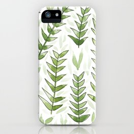 Green Jungle Vibes iPhone Case