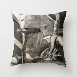 1st Real Still Life Throw Pillow