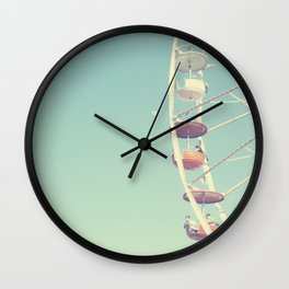 Touch the Moon Wall Clock