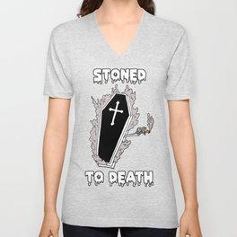 Stoned to Death Unisex V-Neck