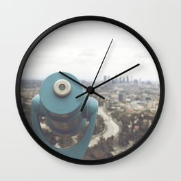The View: Mulholland Wall Clock