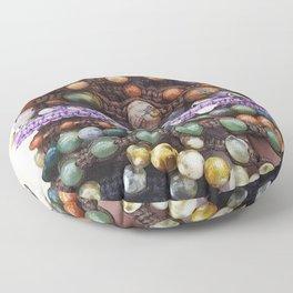 Beaded bracelets Floor Pillow